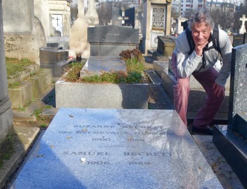 Samuel Beckett - Montparnasse Cemetery