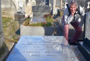 Samuel Beckett Grave - Montparnasse Cemetery