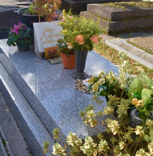 Jean Seberg - Montparnasse Cemetery