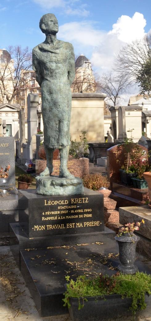 Leopold Kretz - Montparnasse Cemetery