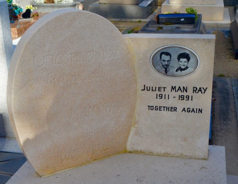Man & Juliet Ray - Montparnasse Cemetery