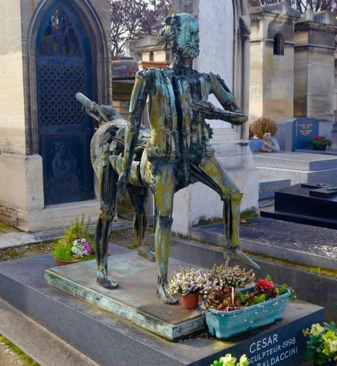 Cesar Baldaccini - Montparnasse Cemetery