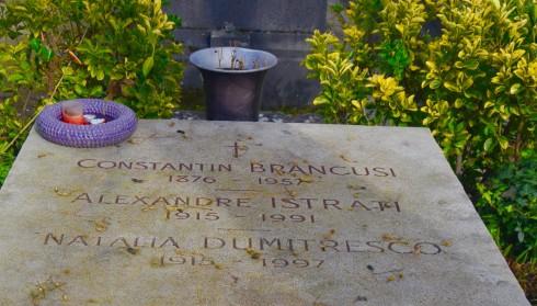 Constantin Brancusi - Montparnasse Cemetery