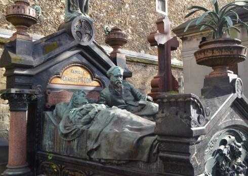 Charles Pigeon - Montparnasse Cemetery