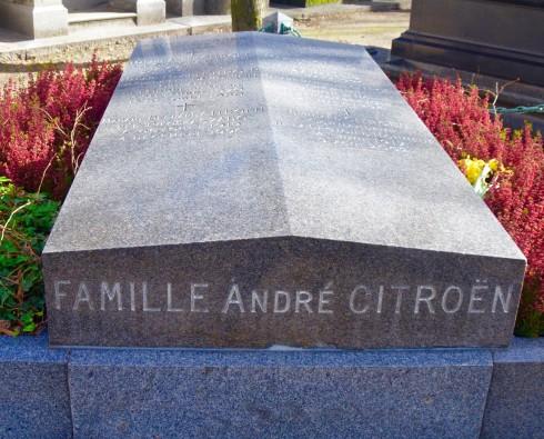 Citroen Family - Montparnasse Cemetery