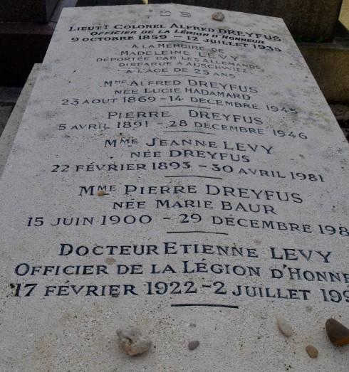 Alfred Dreyfus - Montparnasse Cemetery