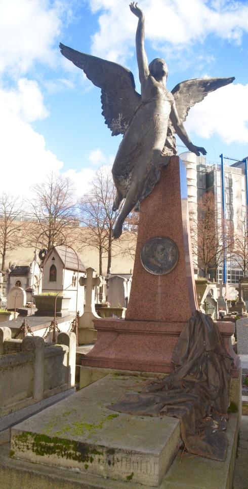 Auguste Bartholdi - Montparnasse Cemetery