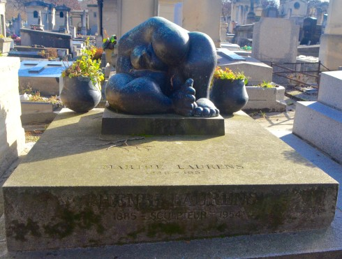 Henri Laurens - Montparnasse Cemetery