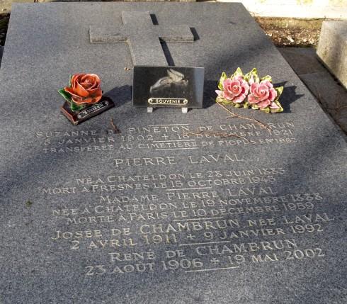 Pierre Laval - Montparnasse Cemetery