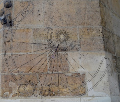 Cluny Museum Sundial