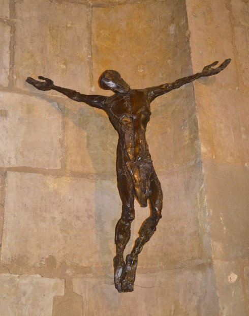 Floating Christ, Communion Chapel, St. Severin