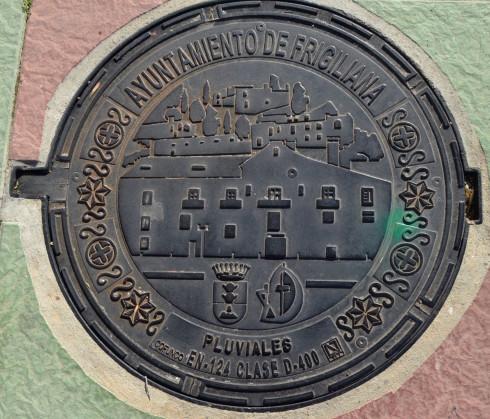 Manhole Cover in Frigiliana