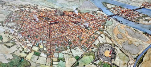 Map of Roman Paris
