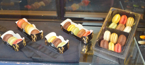 Latin Quarter Paris macarons