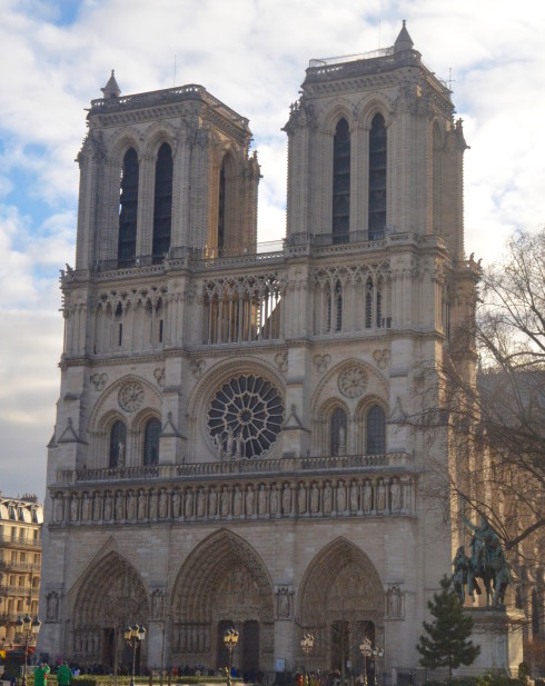 View of Notre Dame from the Latin Quarter
