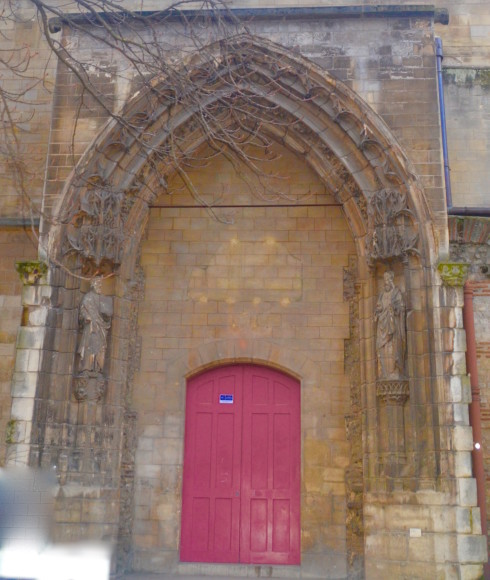 Cluny Museum - old entrance