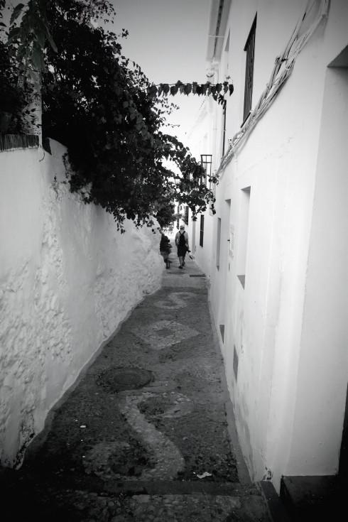 Walking in Frigiliana