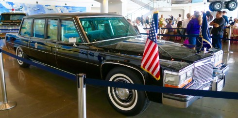 Limousine in the Reagan Library