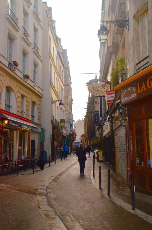 Latin Quarter Paris - Rue St. Severin