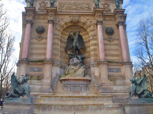 Latin Quarter Paris Fountaine St. Michel