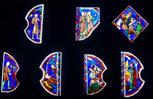 Cluny Museum stained glass