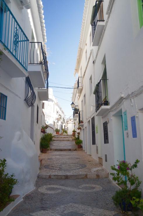 A street in Frigiliana