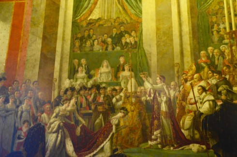 Visiting Versailles - Coronation of Josephine