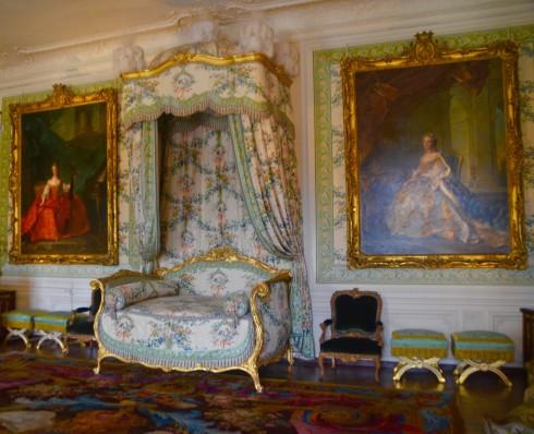 Versailles' bedchamber