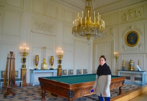 Billiard Room - Grand Trianon