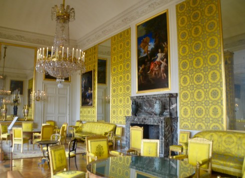Visiting Versailles - The Grand Trianon library