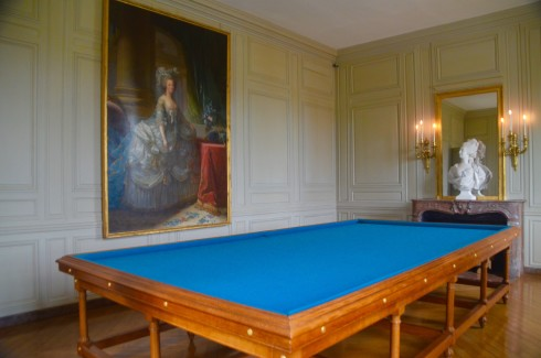 Marrie-Antionette in the Billiard Room, Petit Trianon