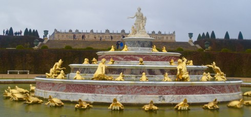 Visiting Versailles - the Latona Fountain