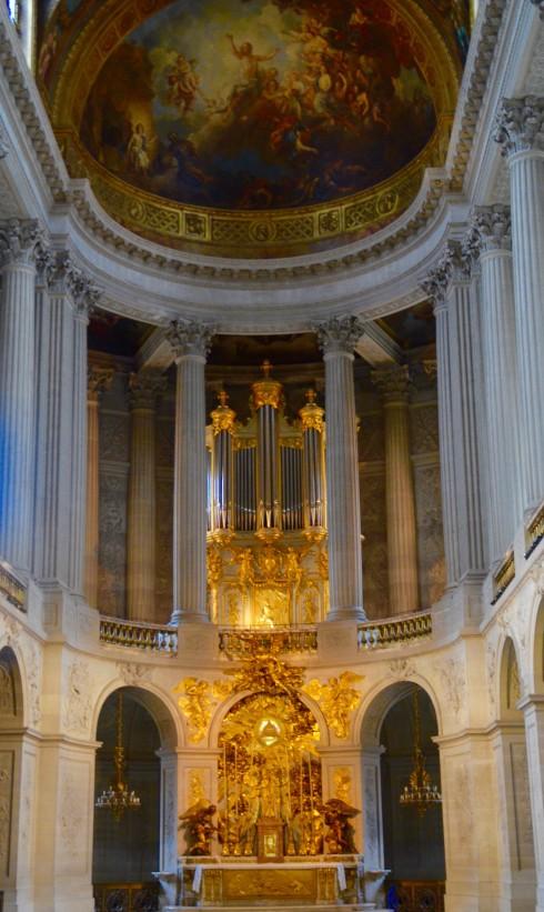 Visiting Versailles - The Royal Chapel