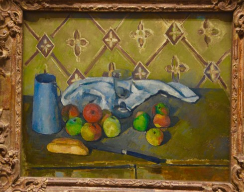 Cezanne - Fruit, Napkin and Jug of Milk - The Orangerie