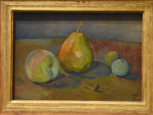 Cezanne - Still Life with Pears and Green Apples - The Orangerie