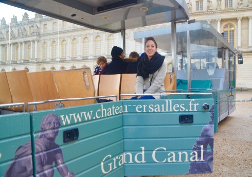 Visiting Versailles - the Tram Car