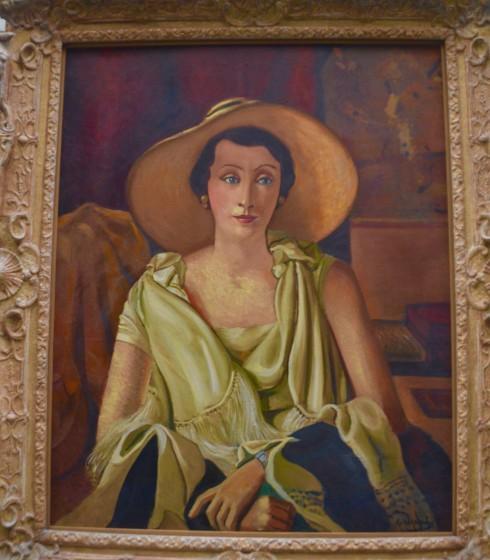 Derain - Portrait of Madame Paul Guilliame, the Orangerie