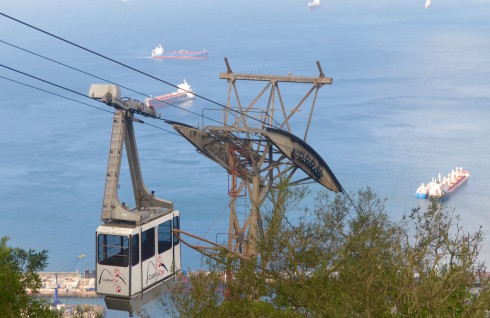 Rock of Gibraltar Cable Car
