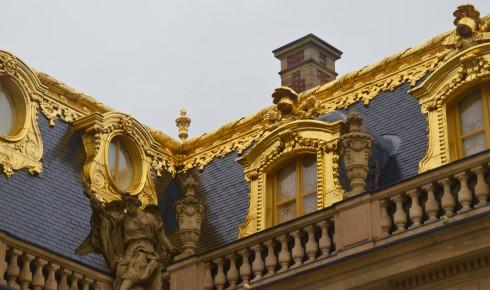 Visiting Versailles - Gold Gilt