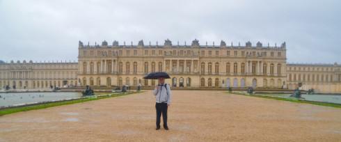 The Maritime Explorer Visiting Versailles