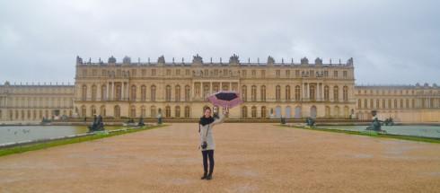 Lenore at Versailles