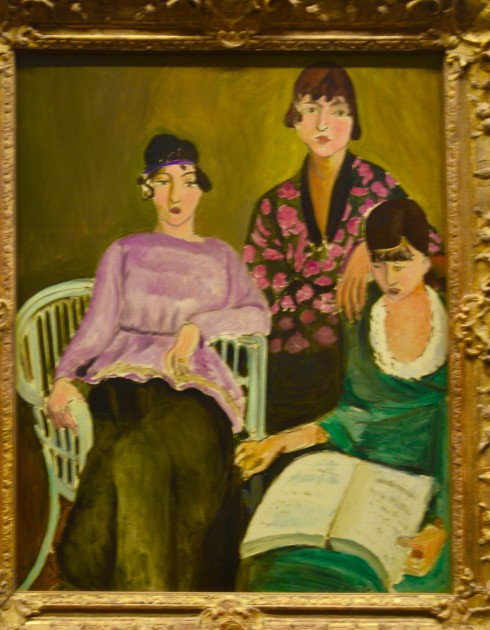 Matisse - The Three Sisters - The Orangerie