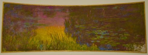 Monet - Water Lilies - Setting Sun - The Orangerie