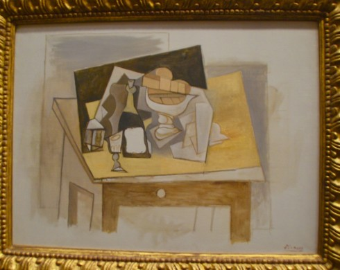 PIcasso - Large Still Life - The Orangerie
