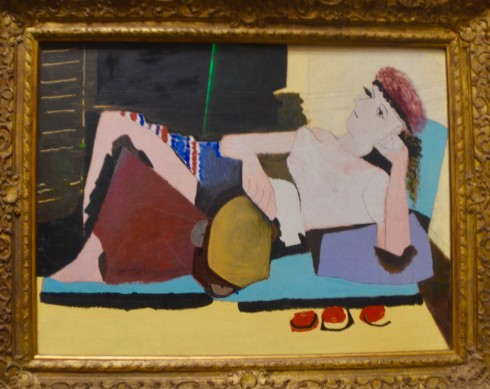 Picasso - Woman with Tambourine - The Orangerie