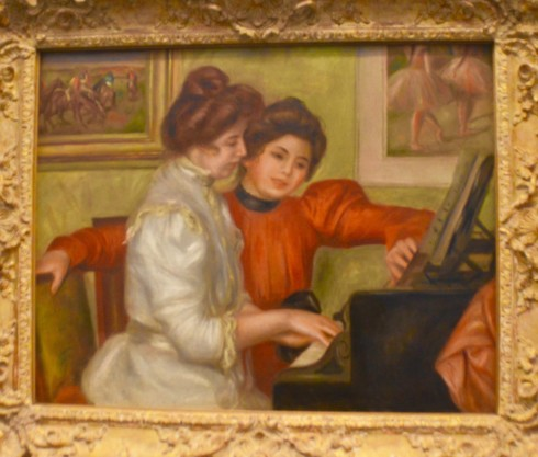 Renoir - Yvonne and Christine Lerolle at the Piano - The Orangerie