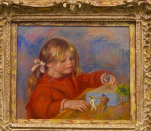 Renoir - Claude Renoir Playing - The Orangerie