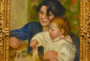 Orangerie -Renoir - Gabrielle and Jean