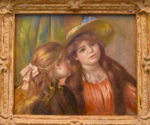 Renoir - Portrait of Two Little Girls - The Orangerie