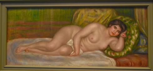 Renoir - Reclining Nude (Gabrielle) - The Orangerie